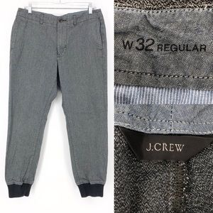 J. Crew men's commute jogger chino pants 32